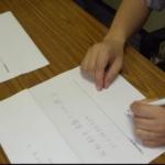 第3回研鑽会 2014年6月7日「利き手と,利き手ではない手による筆記実験」